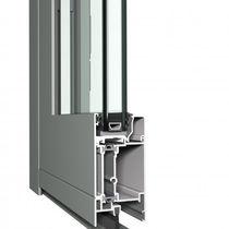 Profilé pour porte en aluminium / à isolation thermique