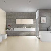 Carrelage de salle de bain / de sol / en grès cérame / uni