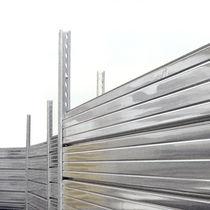 Clôture pour chantier / à panneaux / en acier galvanisé / modulaire