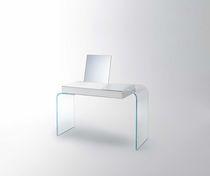 Bureau en verre / contemporain / contract
