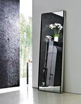 Miroir mural / contemporain / rectangulaire / en acier