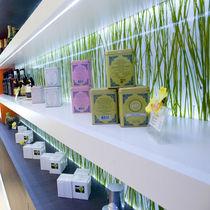 Panneau décoratif en résine / pour agencement intérieur / mural / écolabel Greenguard®