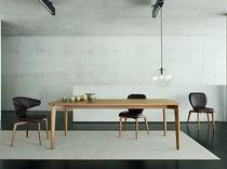 Chaise de conférence / de restaurant / contemporaine / avec accoudoirs