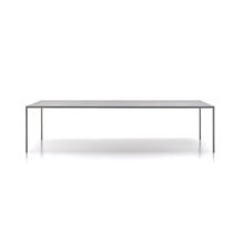 Table contemporaine / en ciment / en composite / rectangulaire