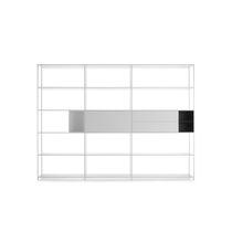 Étagère modulable / contemporaine / en MDF laqué / en aluminium