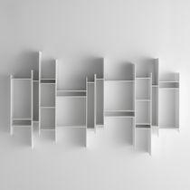 Bibliothèque modulable / murale / contemporaine / professionnelle