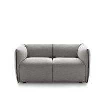 Canapé compact / contemporain / en tissu / contract