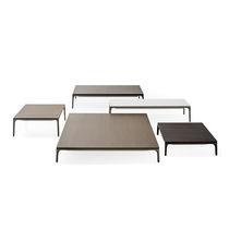 Table basse contemporaine / en chêne / en rouvre / en aluminium