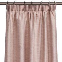 Rideau uni / à passants / en polyester / en coton