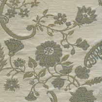 Tissu d'ameublement / à fleurs / en coton / en lin