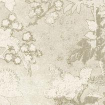 Tissu d'ameublement / à motif / en coton / en soie