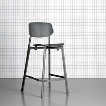 Tabouret de bar design minimaliste / pour restaurant / contract / professionnel