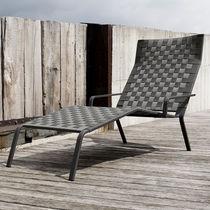 Bain de soleil contemporain / en tissu / en polyester / de jardin