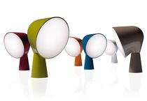 Lampe de table / design original / en polycarbonate / en ABS