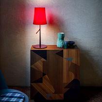 Lampe de table / contemporaine / en acier / en polycarbonate