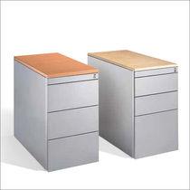 Caisson de bureau en acier / en bois / à 3 tiroirs / à 2 tiroirs