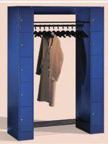 Casier vestiaire en métal / pour bureau / avec penderie ouverte
