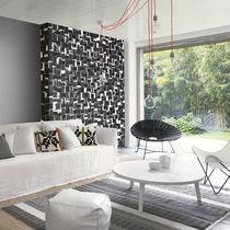 Revêtement mural en papier / à usage résidentiel / texturé / aspect mosaïque