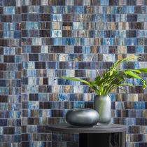 Revêtement mural en fibre naturelle / en bois / à usage domestique / coloré