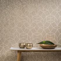 Papiers peints contemporains / en textile non-tissé / à motifs géométriques / imprimés