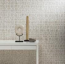 Revêtement mural en fibre naturelle / en bambou / en viscose / en lin