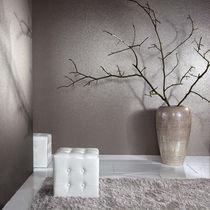 Revêtement mural en mica / à usage résidentiel / satiné / aspect tissu
