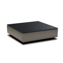 Table basse contemporaine / carrée / contract