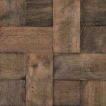 Mosaïque d'intérieur / murale / en bois / 3D