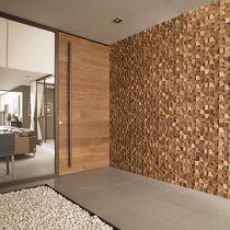 Mosaïque d'intérieur / murale / en bois / mate