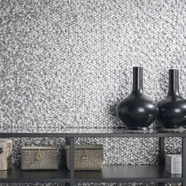 Mosaïque d'intérieur / murale / en métal / 3D