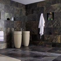 Carrelage d'intérieur / de salle de bain / mural / en ardoise