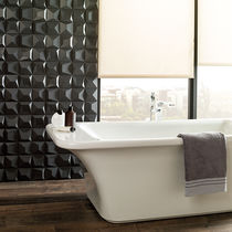 Carrelage de salle de bain / mural / en grès cérame / mat