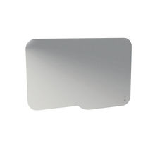 Miroir de salle de bain mural / suspendu / contemporain / rectangulaire