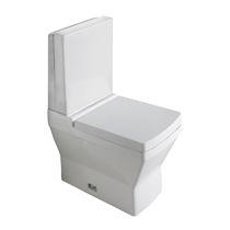 Toilettes à poser / en céramique / avec chasse d'eau apparente