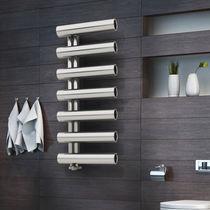 Sèche-serviettes à eau chaude / électrique / en acier / design original