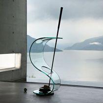 Porte-parapluie en verre / en métal