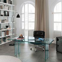 Bureau en verre / contemporain