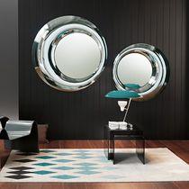 Miroir mural / contemporain / rond / de salon