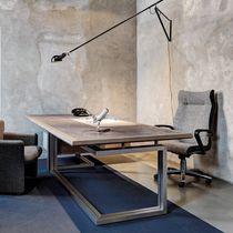 Bureau de direction / en bois / en métal / contemporain