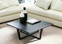 Table basse / contemporaine / en marbre / en frêne