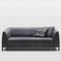 Canapé contemporain / en cuir / par Christian Werner