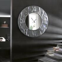 Horloge contemporaine / analogique / murale / en aluminium