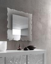 Miroir mural / contemporain / carré / en méthacrylate