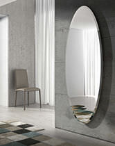 Miroir mural / contemporain / ovale