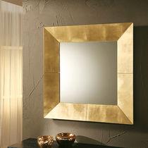 Miroir mural / contemporain / carré / en cuivre