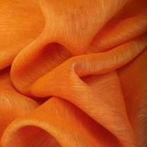 Tissu d'ameublement / pour store enrouleur / uni / en lin