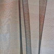 Tissu d'ameublement / pour store enrouleur / à rayures / en lin