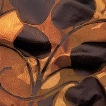 Tissu d'ameublement / à motif / en polyester / en soie