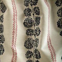 Tissu d'ameublement / à motif / en coton / en lin