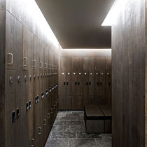 Panneau de séparation / pour agencement intérieur / MDF / en bois massif